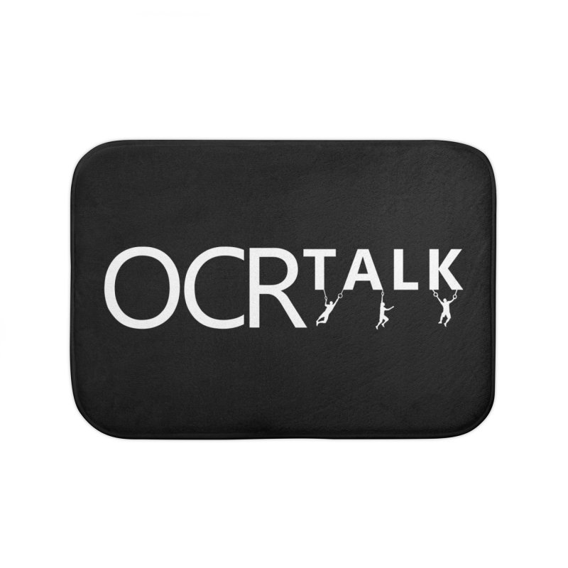 OCR Talk White Home Bath Mat by The OCR Report