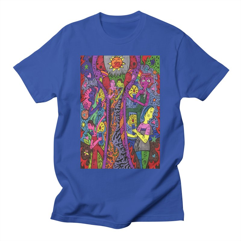 6 of Candles of the Patella Tarot - Community Support Comfortable Styles T-Shirt by Paint AF's Artist Shop