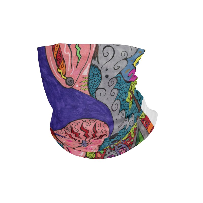 Adult of Keys of the Patella Tarot Masks, Gifts & Accessories Neck Gaiter by Paint AF's Artist Shop