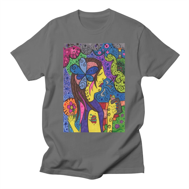6 of Tears of the Patella Tarot: Reflection Comfortable Styles T-Shirt by Paint AF's Artist Shop