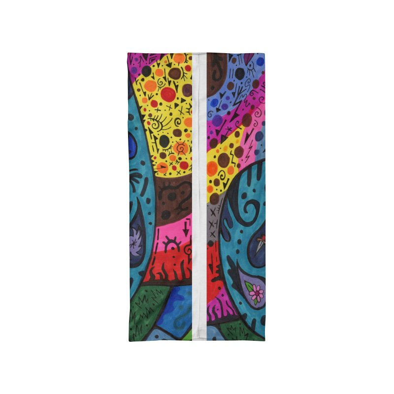 Elder of Tears of the Patella Tarot Masks, Gifts & Accessories Neck Gaiter by Paint AF's Artist Shop