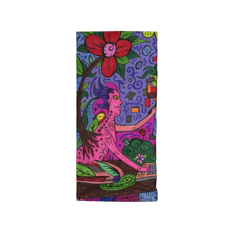 Adults of Leaves of the Patella Tarot Masks, Gifts & Accessories Neck Gaiter by Paint AF's Artist Shop