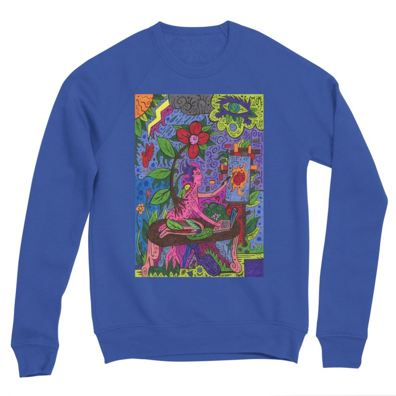 Adults of Leaves of the Patella Tarot Comfortable Styles Sweatshirt by Paint AF's Artist Shop