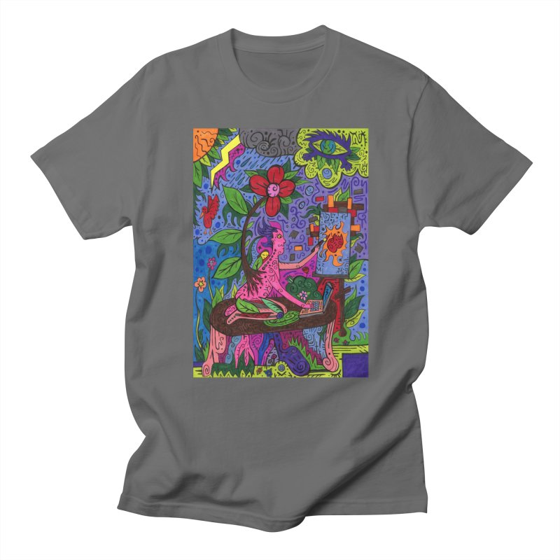Adults of Leaves of the Patella Tarot Comfortable Styles T-Shirt by Paint AF's Artist Shop