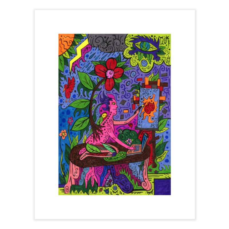 Adults of Leaves of the Patella Tarot Home, Décor & Cozy Fine Art Print by Paint AF's Artist Shop