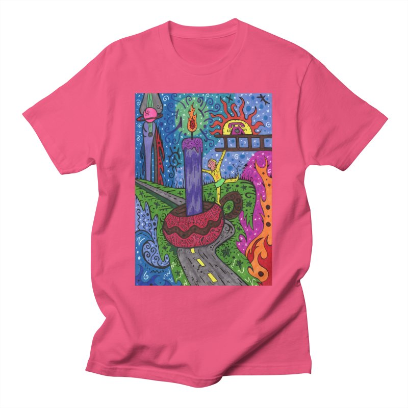 Child of Candles of the Patella Tarot Comfortable Styles T-Shirt by Paint AF's Artist Shop