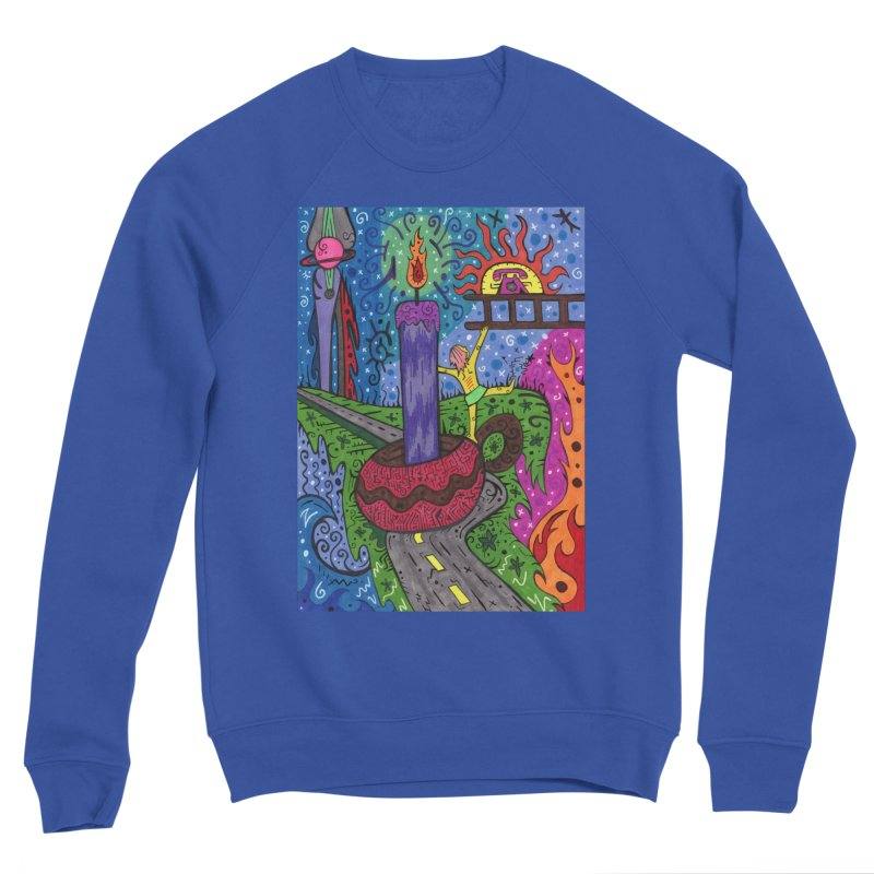 Child of Candles of the Patella Tarot Comfortable Styles Sweatshirt by Paint AF's Artist Shop