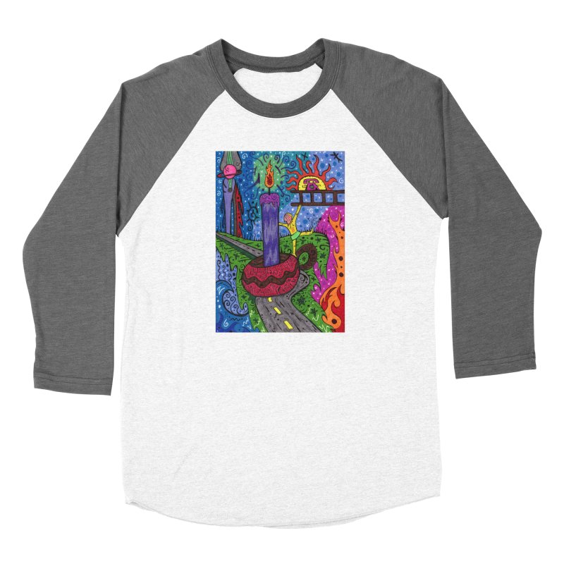 Child of Candles of the Patella Tarot Fitted Clothing Styles Longsleeve T-Shirt by Paint AF's Artist Shop