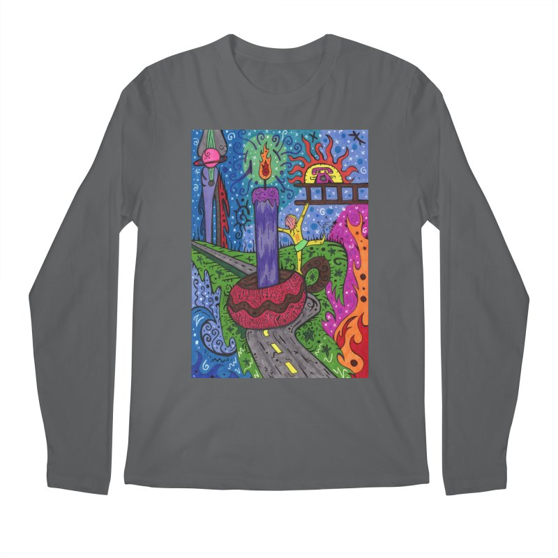 Child of Candles of the Patella Tarot Comfortable Styles Longsleeve T-Shirt by Paint AF's Artist Shop