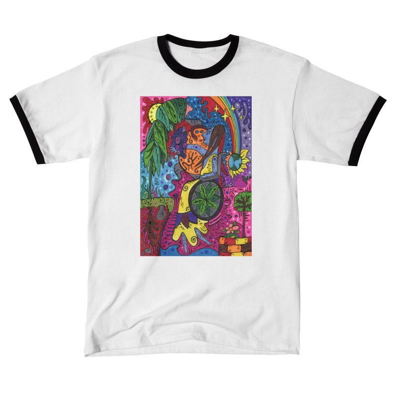 Elder of Leaves of the Patella Tarot Fitted Clothing Styles T-Shirt by Paint AF's Artist Shop