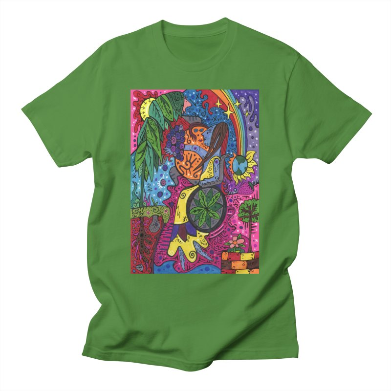 Elder of Leaves of the Patella Tarot Comfortable Styles T-Shirt by Paint AF's Artist Shop