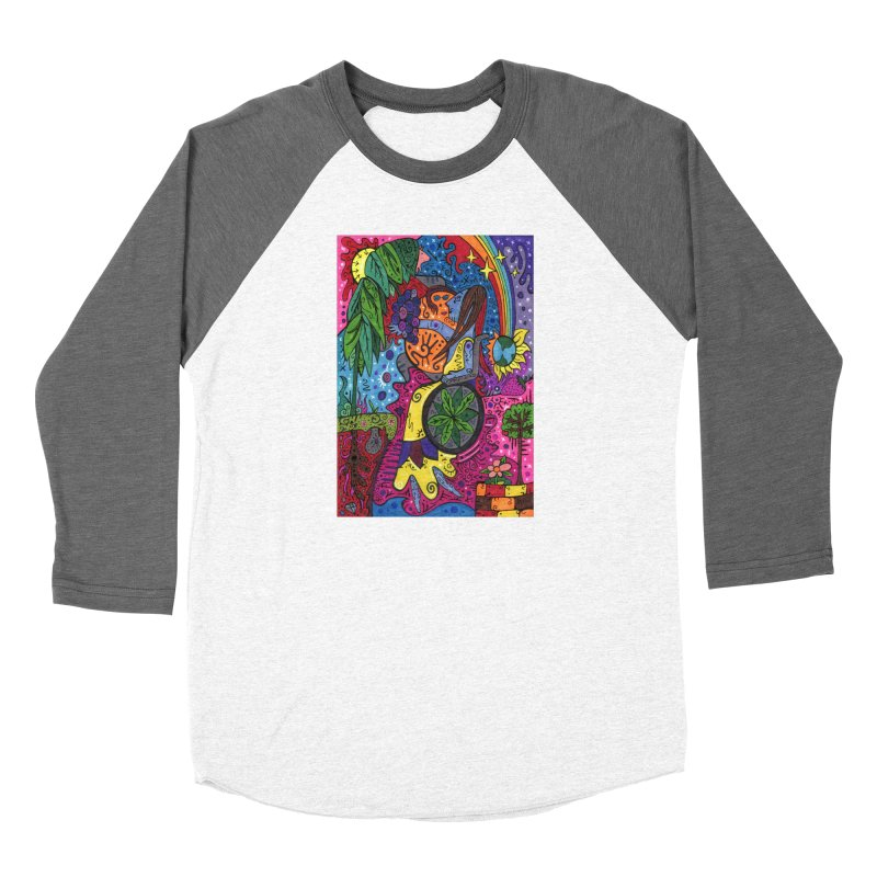 Elder of Leaves of the Patella Tarot Fitted Clothing Styles Longsleeve T-Shirt by Paint AF's Artist Shop