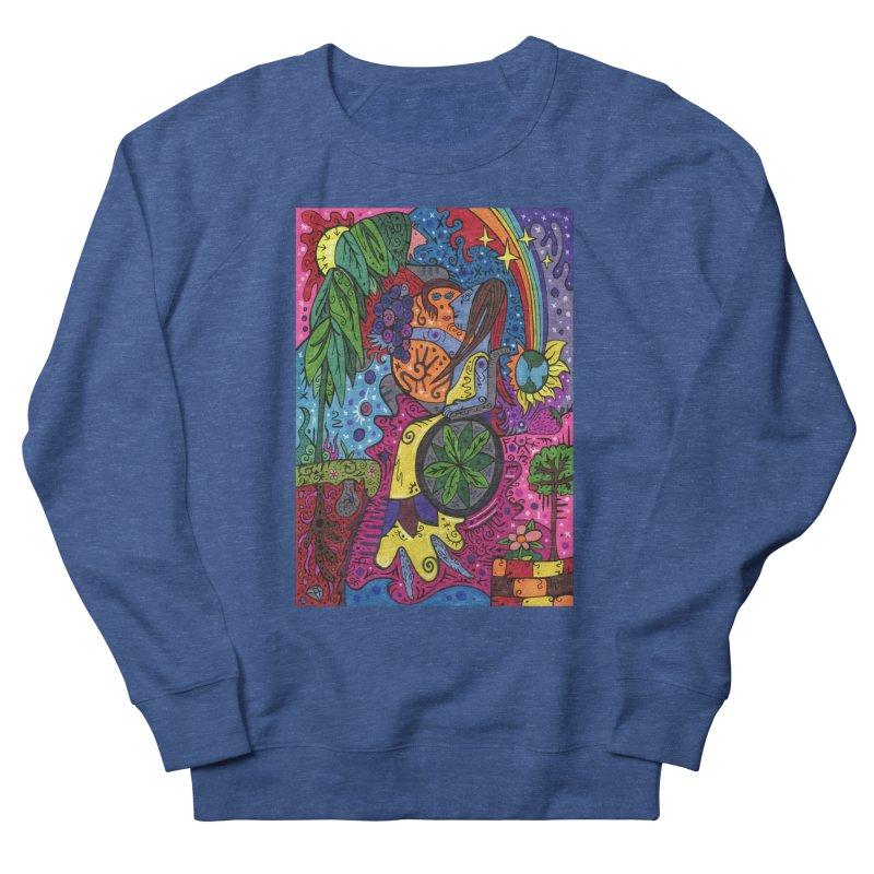 Elder of Leaves of the Patella Tarot Comfortable Styles Sweatshirt by Paint AF's Artist Shop
