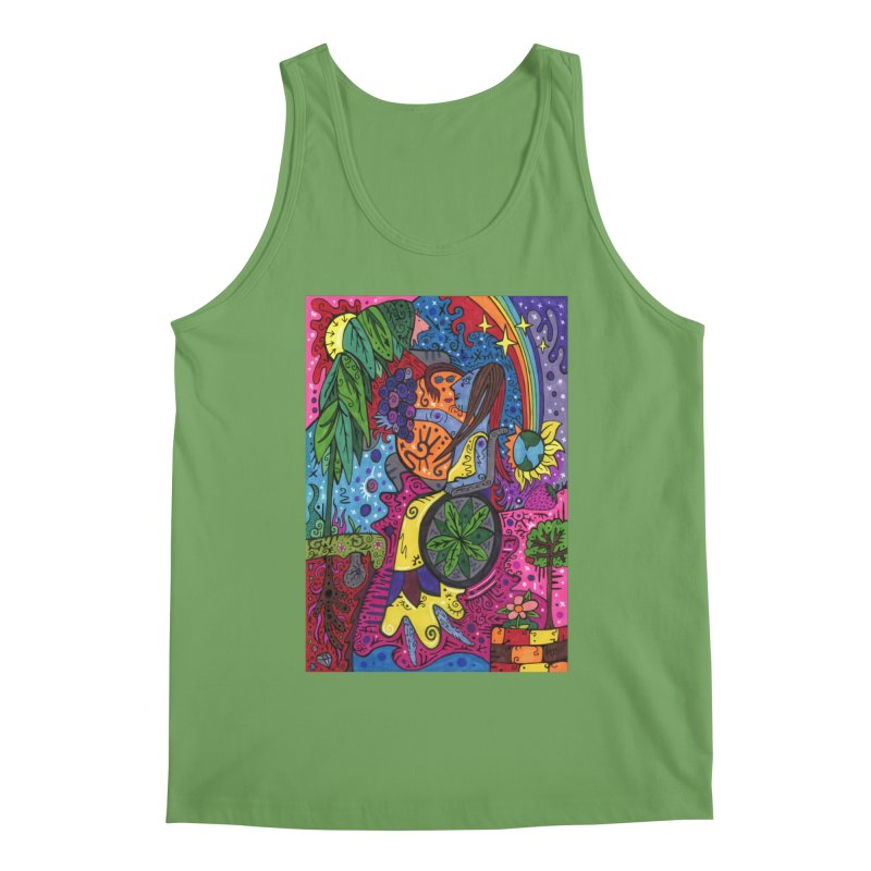 Elder of Leaves of the Patella Tarot Comfortable Styles Tank by Paint AF's Artist Shop