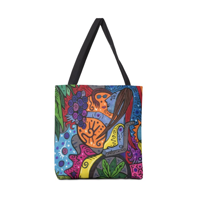 Elder of Leaves of the Patella Tarot Masks, Gifts & Accessories Bag by Paint AF's Artist Shop