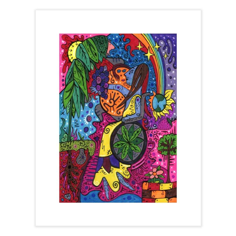 Elder of Leaves of the Patella Tarot Home, Décor & Cozy Fine Art Print by Paint AF's Artist Shop