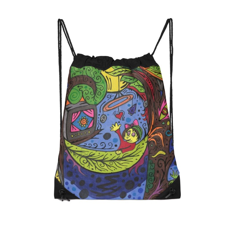 Child of Leaves of the Patella Tarot Masks, Gifts & Accessories Bag by Paint AF's Artist Shop