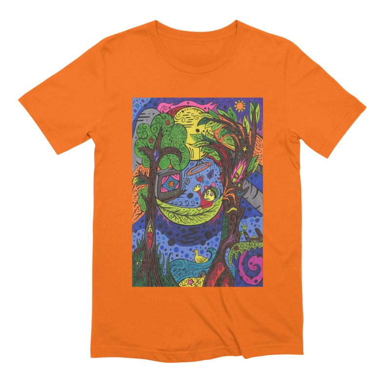 Child of Leaves of the Patella Tarot Comfortable Styles T-Shirt by Paint AF's Artist Shop