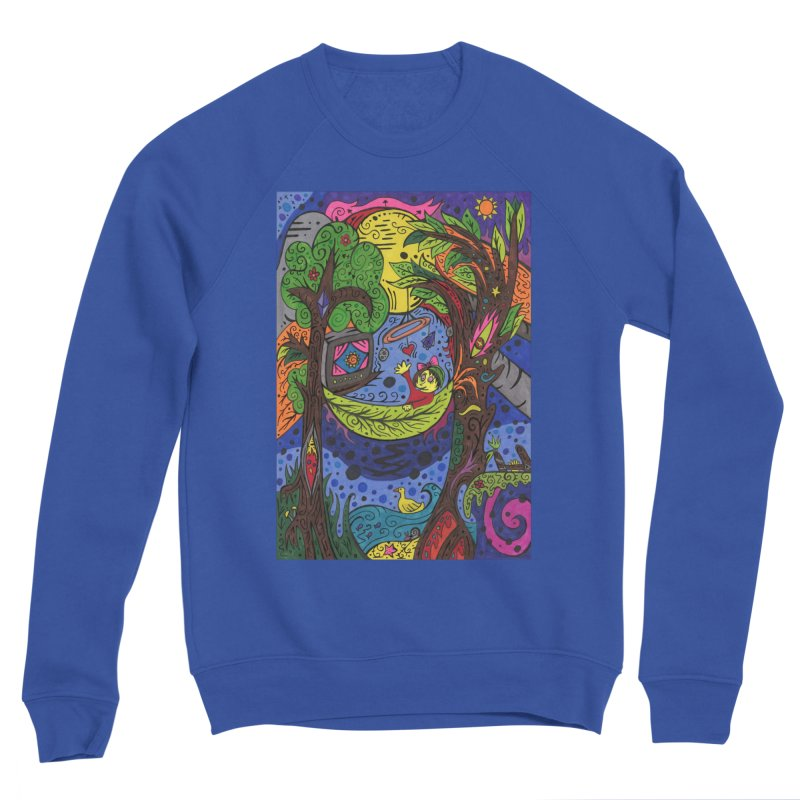Child of Leaves of the Patella Tarot Comfortable Styles Sweatshirt by Paint AF's Artist Shop