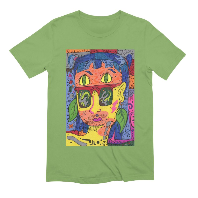 4 of Leaves of the Patella Tarot Comfortable Styles T-Shirt by Paint AF's Artist Shop
