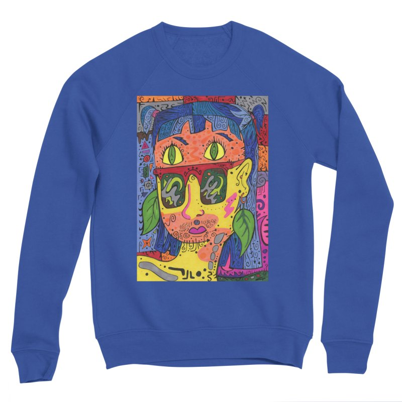 4 of Leaves of the Patella Tarot Comfortable Styles Sweatshirt by Paint AF's Artist Shop