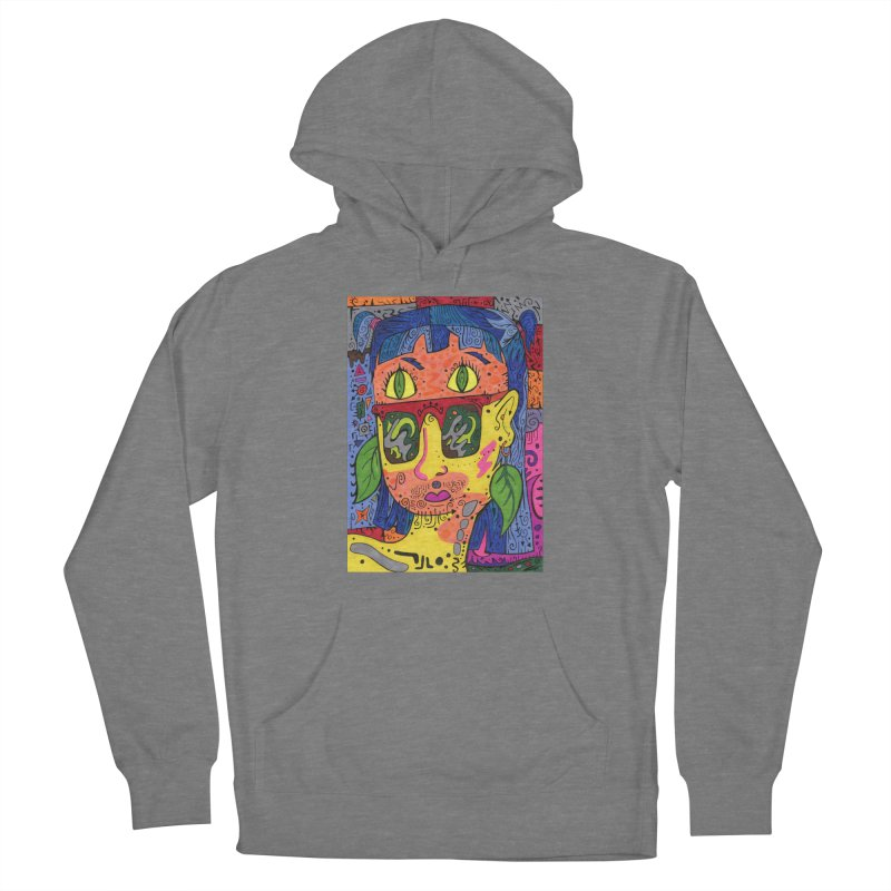 4 of Leaves of the Patella Tarot Fitted Clothing Styles Pullover Hoody by Paint AF's Artist Shop