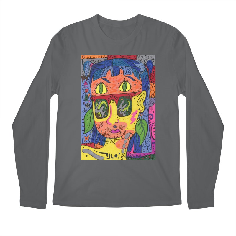 4 of Leaves of the Patella Tarot Comfortable Styles Longsleeve T-Shirt by Paint AF's Artist Shop