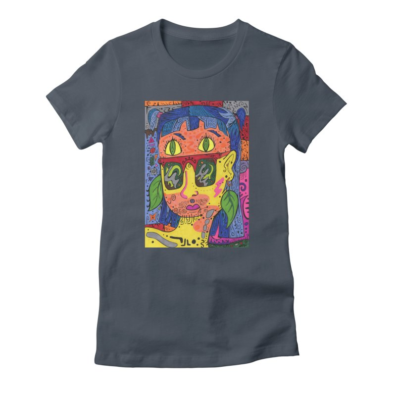 4 of Leaves of the Patella Tarot Fitted Clothing Styles T-Shirt by Paint AF's Artist Shop