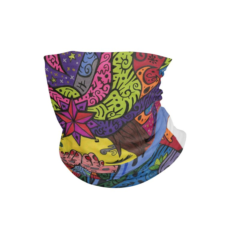 The Patella Tarot - The Star Masks, Gifts & Accessories Neck Gaiter by Paint AF's Artist Shop