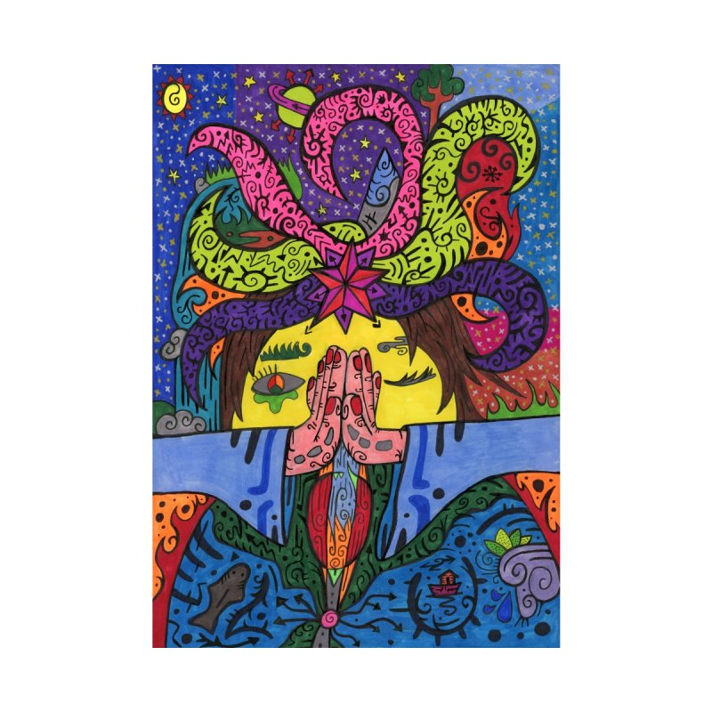 The Patella Tarot - The Star   by Paint AF's Artist Shop