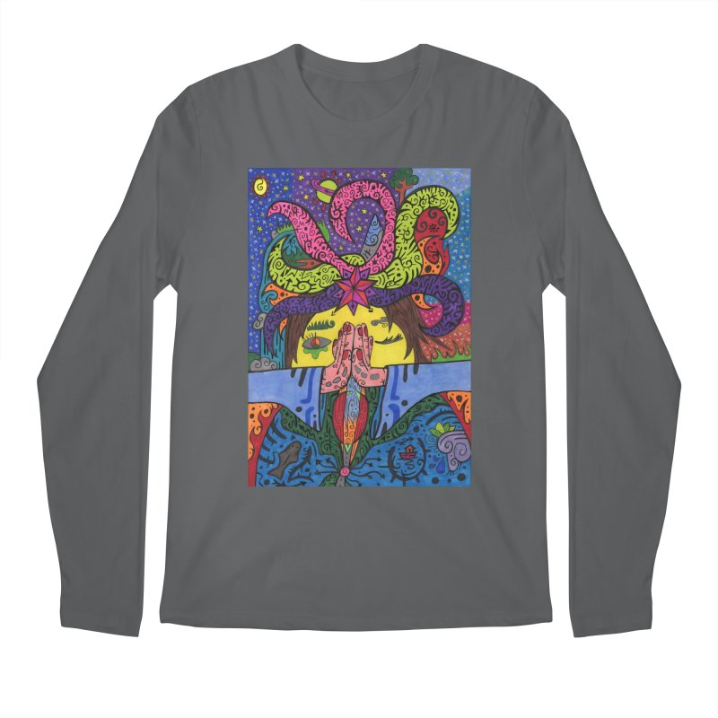 The Patella Tarot - The Star Comfortable Styles Longsleeve T-Shirt by Paint AF's Artist Shop