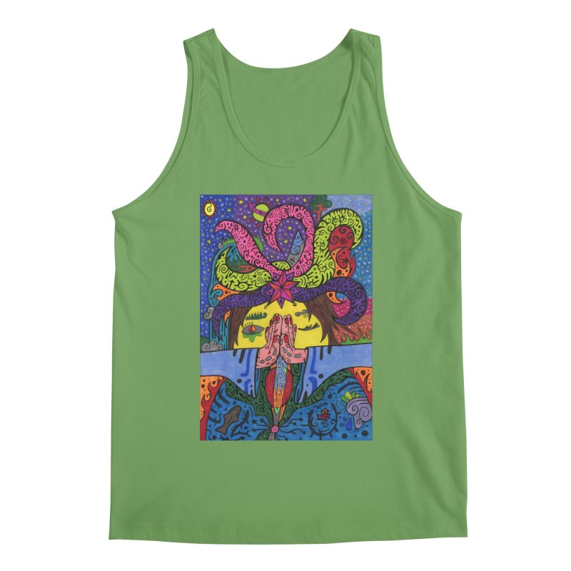 The Patella Tarot - The Star Comfortable Styles Tank by Paint AF's Artist Shop