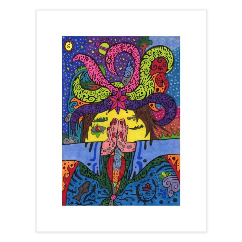 The Patella Tarot - The Star Home, Décor & Cozy Fine Art Print by Paint AF's Artist Shop