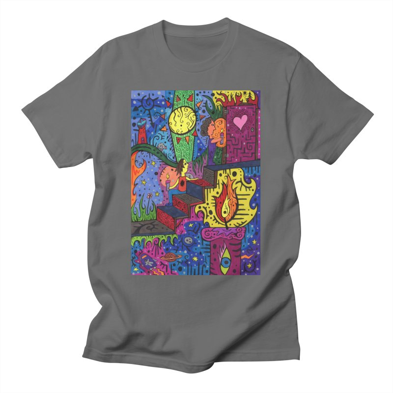 3 of Candles of the Patella Tarot: Opportunities Comfortable Styles T-Shirt by Paint AF's Artist Shop