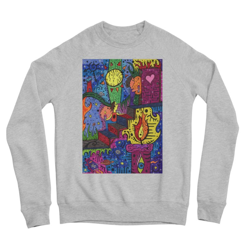 3 of Candles of the Patella Tarot: Opportunities Fitted Clothing Styles Sweatshirt by Paint AF's Artist Shop