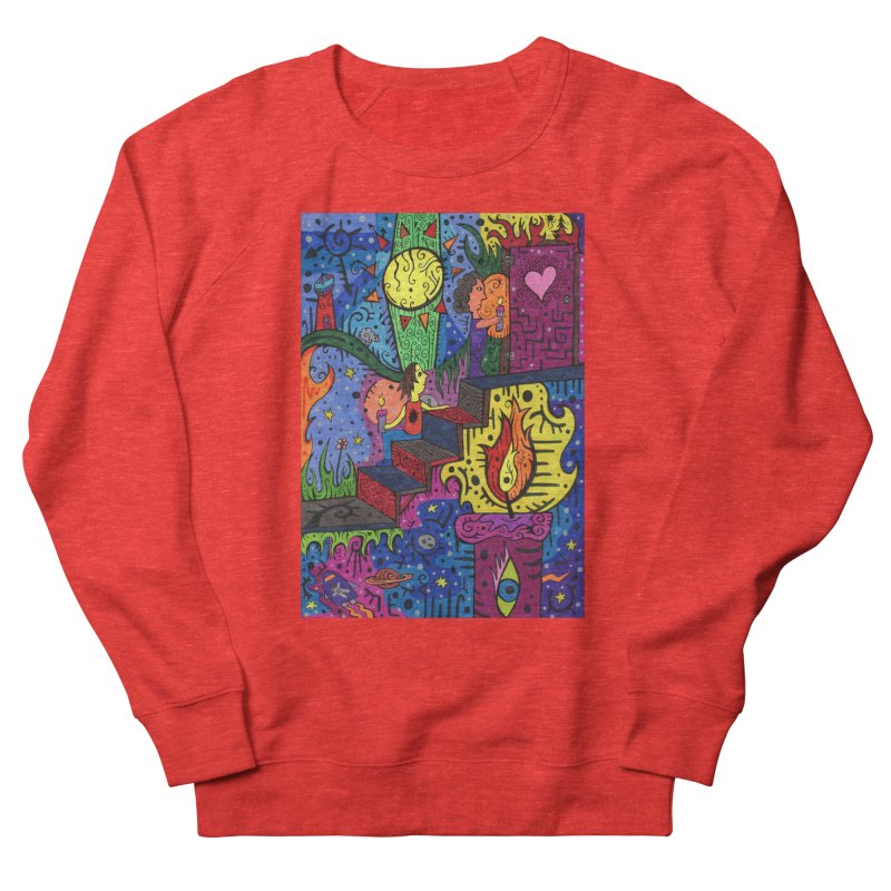 3 of Candles of the Patella Tarot: Opportunities Comfortable Styles Sweatshirt by Paint AF's Artist Shop