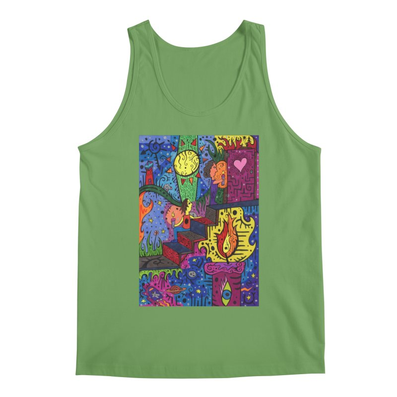 3 of Candles of the Patella Tarot: Opportunities Comfortable Styles Tank by Paint AF's Artist Shop