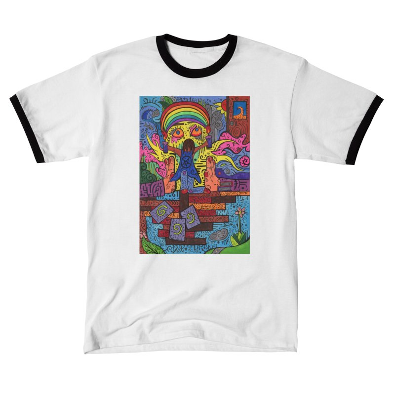 2 of Candles of the Patella Tarot: Decisions Comfortable Styles T-Shirt by Paint AF's Artist Shop