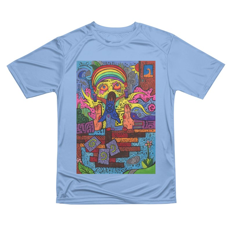 2 of Candles of the Patella Tarot: Decisions Fitted Clothing Styles T-Shirt by Paint AF's Artist Shop