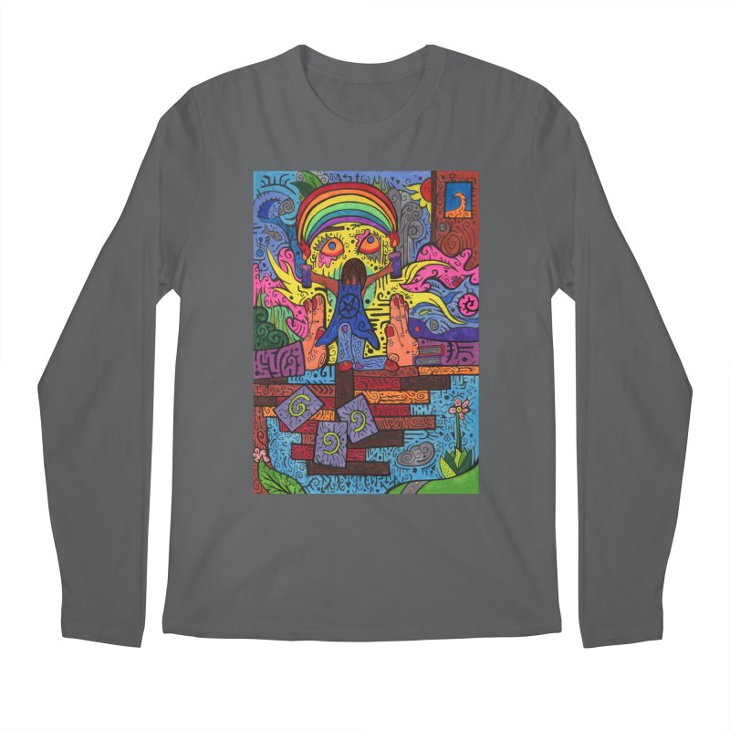 2 of Candles of the Patella Tarot: Decisions Comfortable Styles Longsleeve T-Shirt by Paint AF's Artist Shop