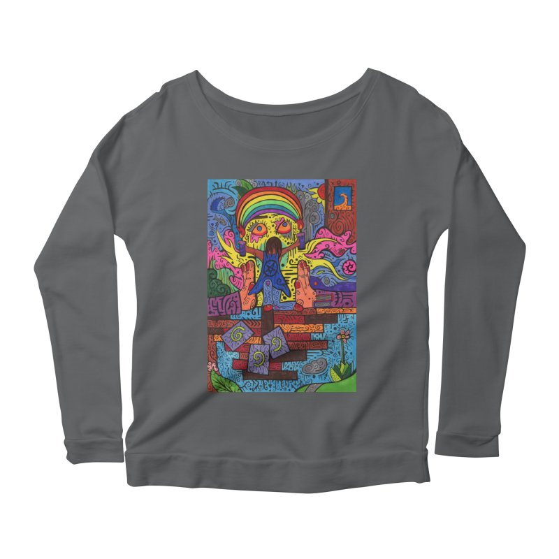 2 of Candles of the Patella Tarot: Decisions Fitted Clothing Styles Longsleeve T-Shirt by Paint AF's Artist Shop