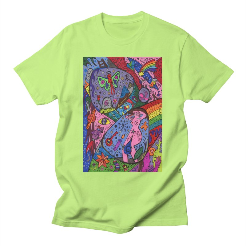 The Patella Tarot - The Patella (World) Comfortable Styles T-Shirt by Paint AF's Artist Shop