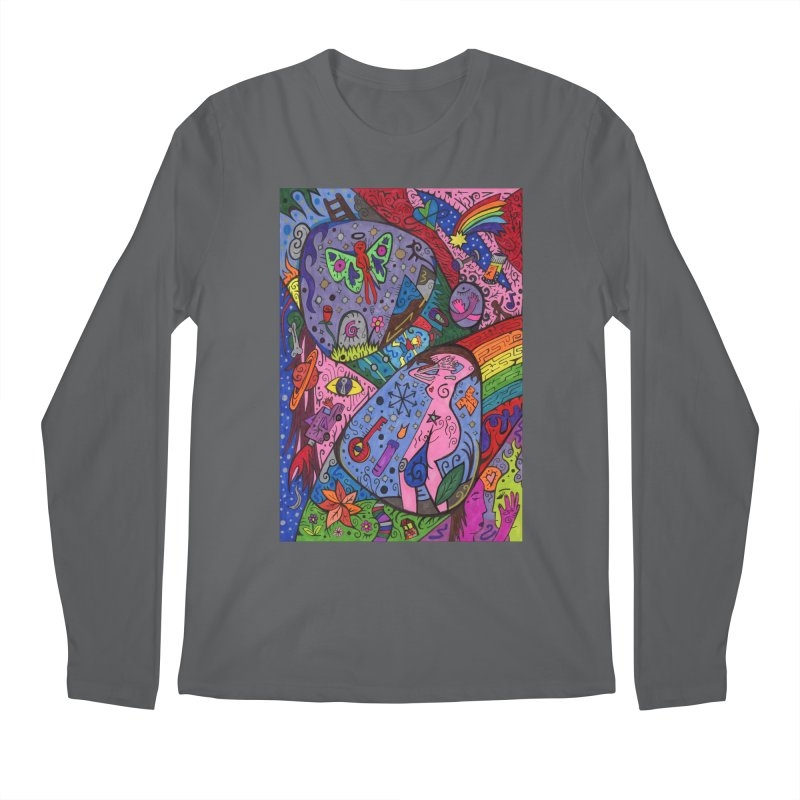 The Patella Tarot - The Patella (World) Comfortable Styles Longsleeve T-Shirt by Paint AF's Artist Shop