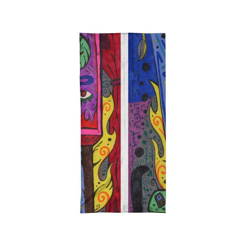 Adult of Candles of the Patella Tarot Masks, Gifts & Accessories Neck Gaiter by Paint AF's Artist Shop