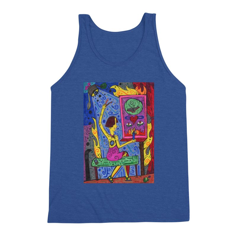 Adult of Candles of the Patella Tarot Comfortable Styles Tank by Paint AF's Artist Shop