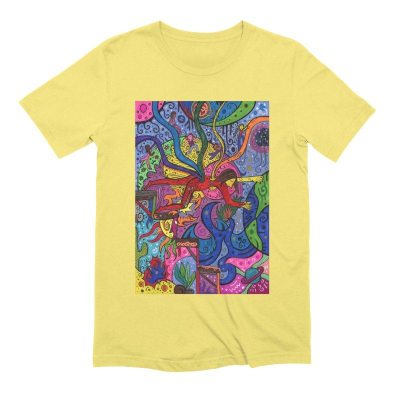 The Patella Tarot - The Bridge (Hierophant) Comfortable Styles T-Shirt by Paint AF's Artist Shop