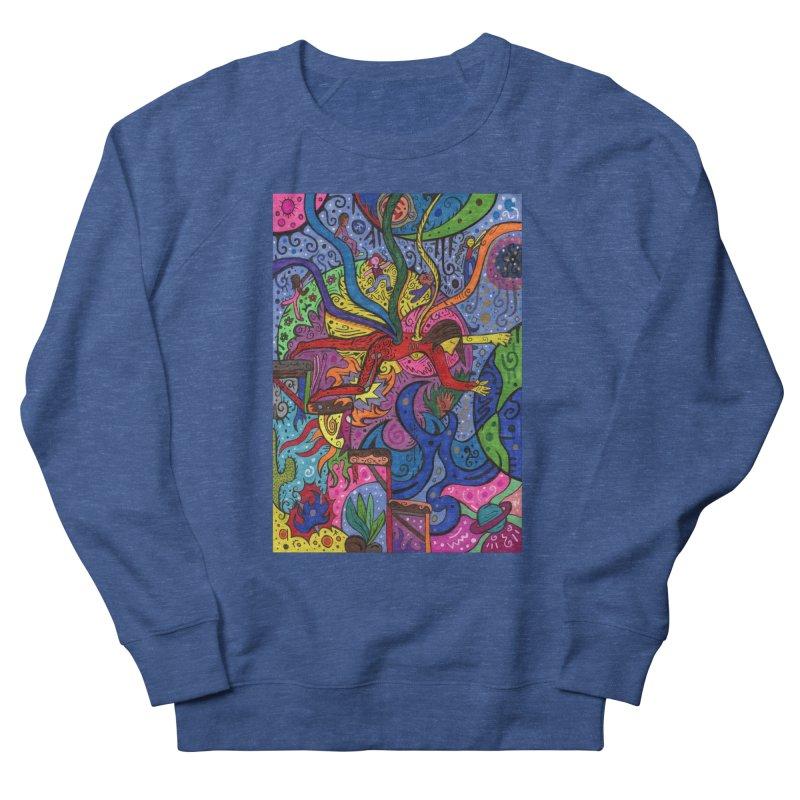 The Patella Tarot - The Bridge (Hierophant) Comfortable Styles Sweatshirt by Paint AF's Artist Shop