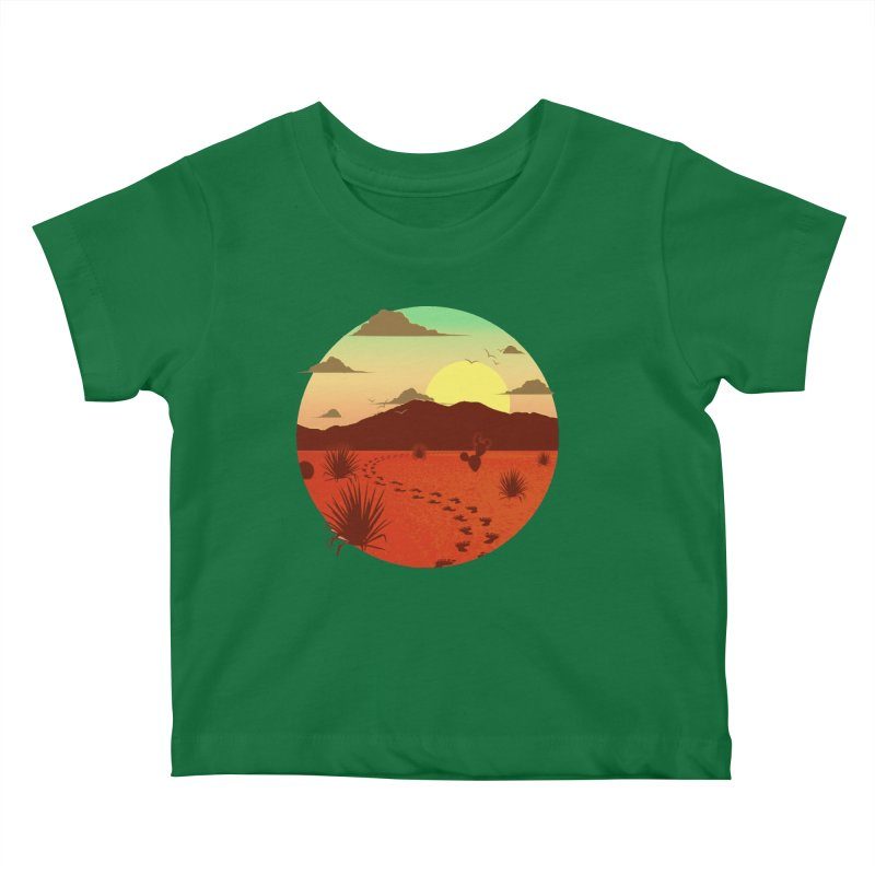 Grounded Kids Baby T-Shirt by The Riddims Merch Shop
