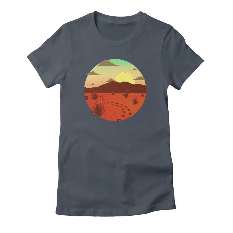 Grounded Women's T-Shirt by The Riddims Merch Shop