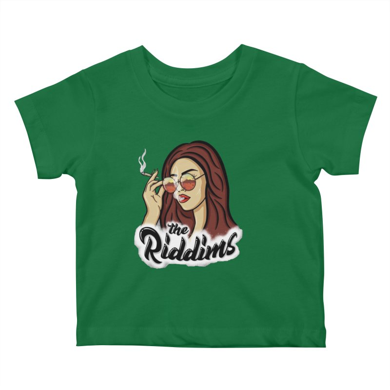 Riddims Ruca Kids Baby T-Shirt by The Riddims Merch Shop